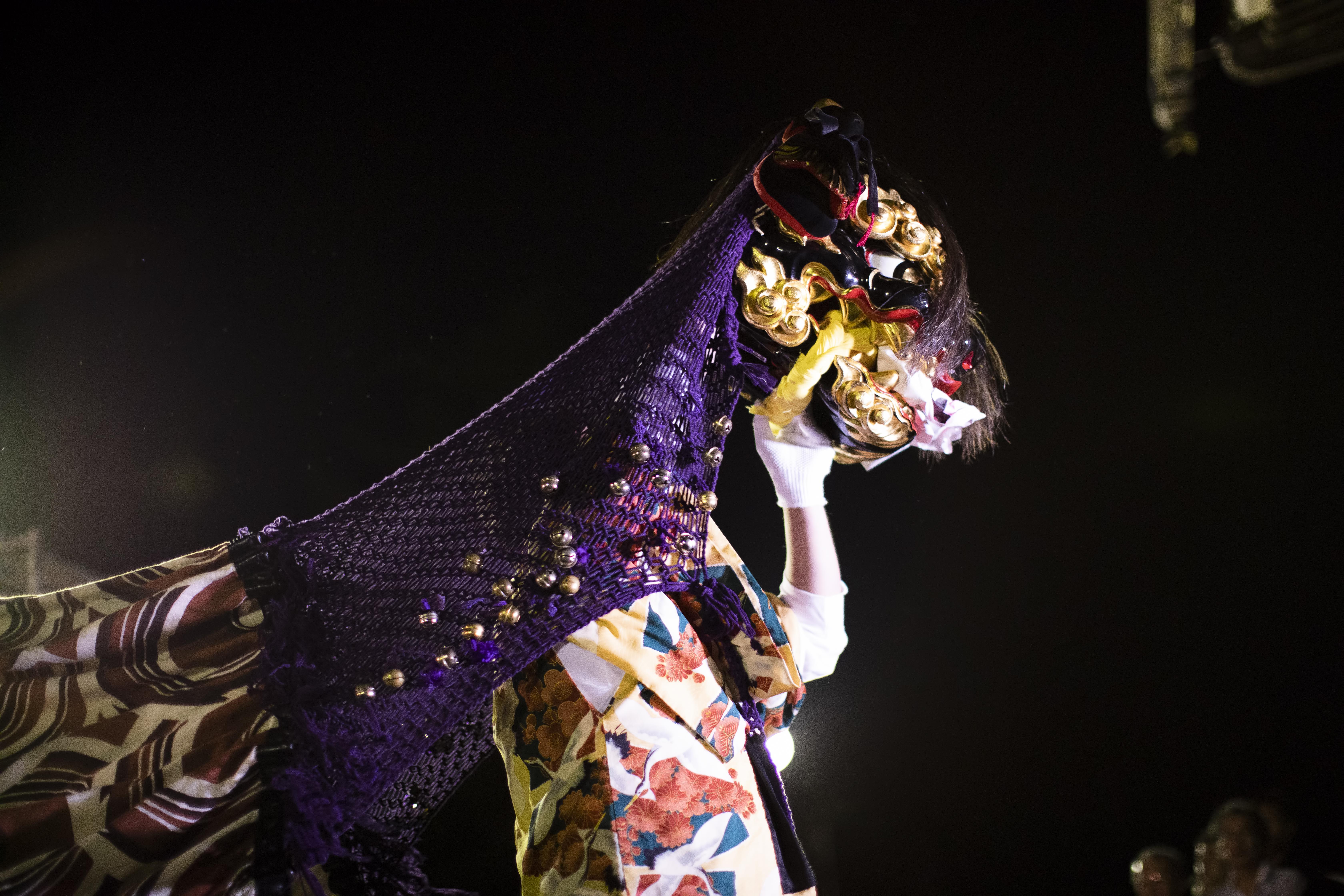 獅子舞共演会の写真を公開します!の画像