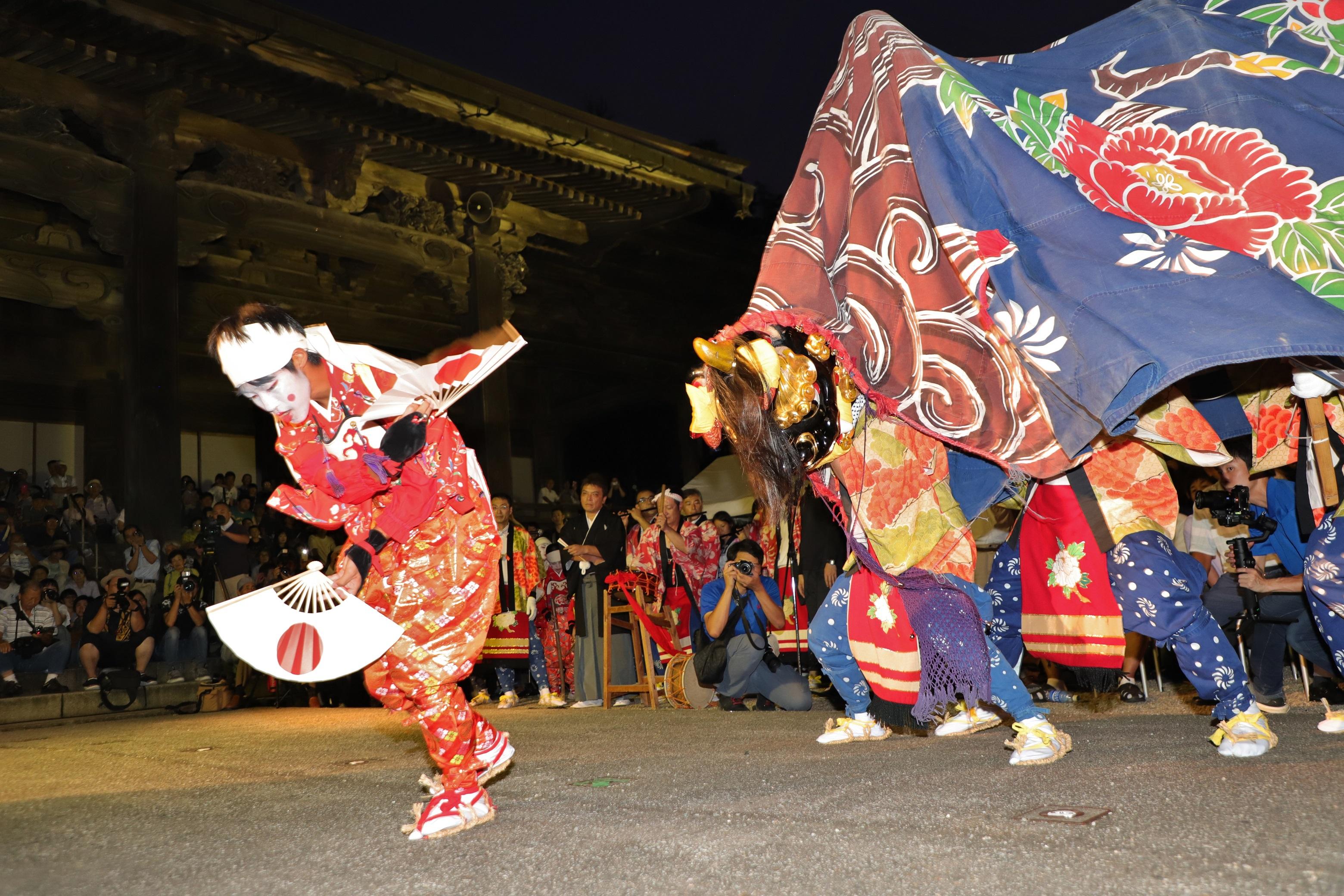南砺 獅子舞「令和元年夏の陣」獅子舞共演会が開催されました!の画像