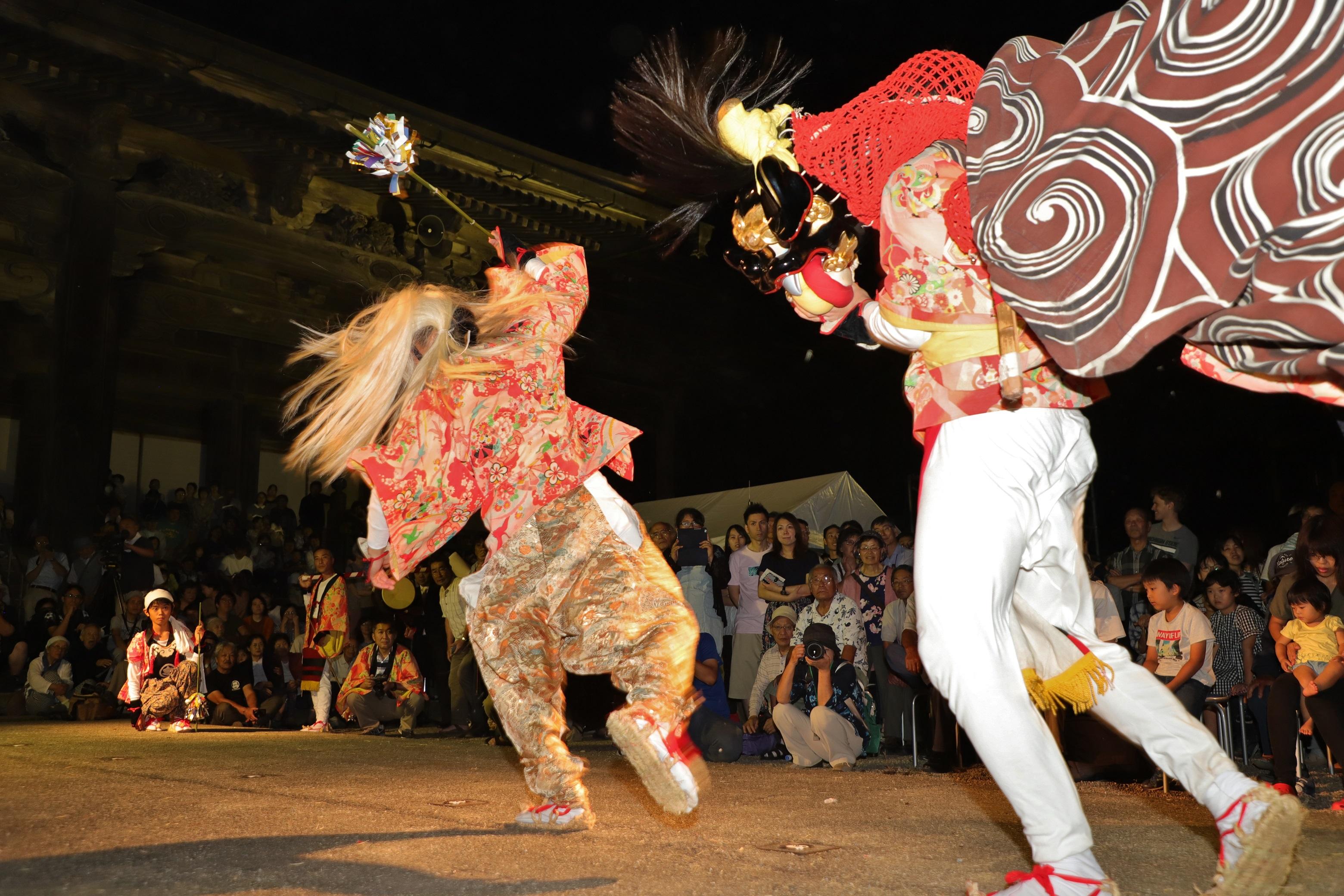 南砺 獅子舞「令和元年夏の陣」獅子舞共演会プロモーション映像が完成しました!の画像