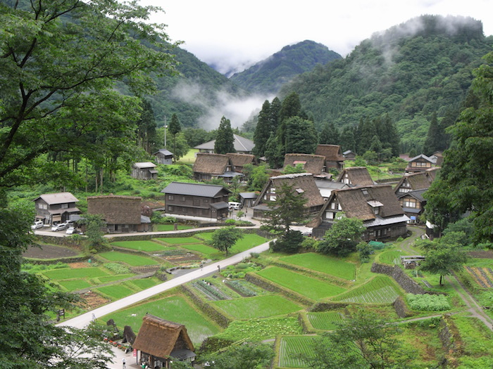 越中五箇山相倉集落の画像