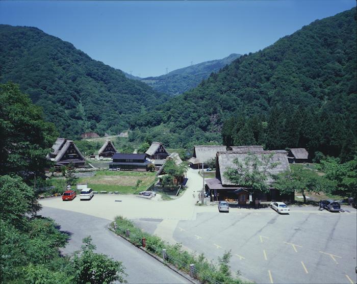 越中五箇山菅沼集落の画像