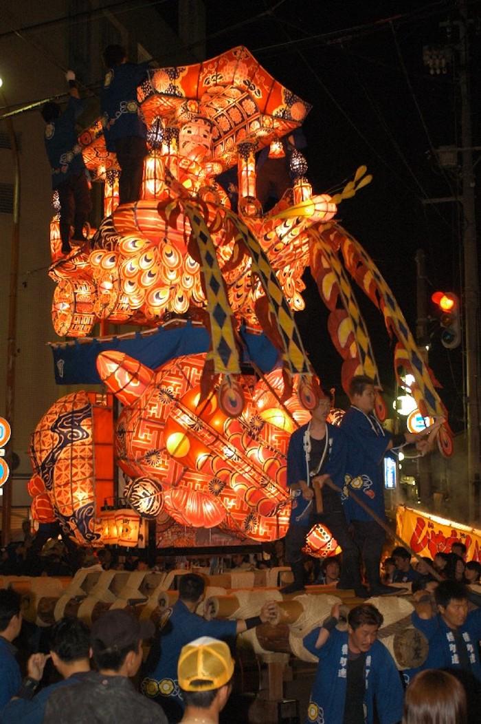 福野の夜高祭の画像