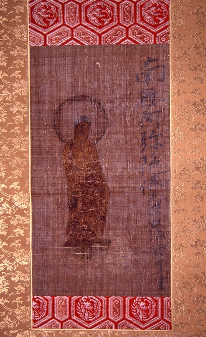 絹本著色阿弥陀如来来迎図の画像