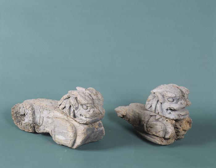 狛犬木鼻の画像