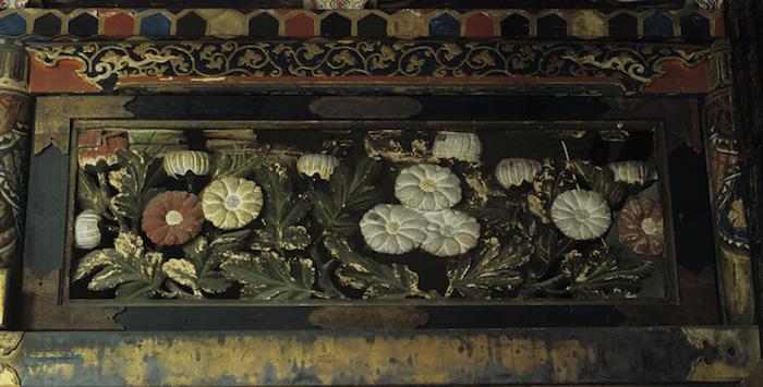 教念寺本堂「欄間」の画像