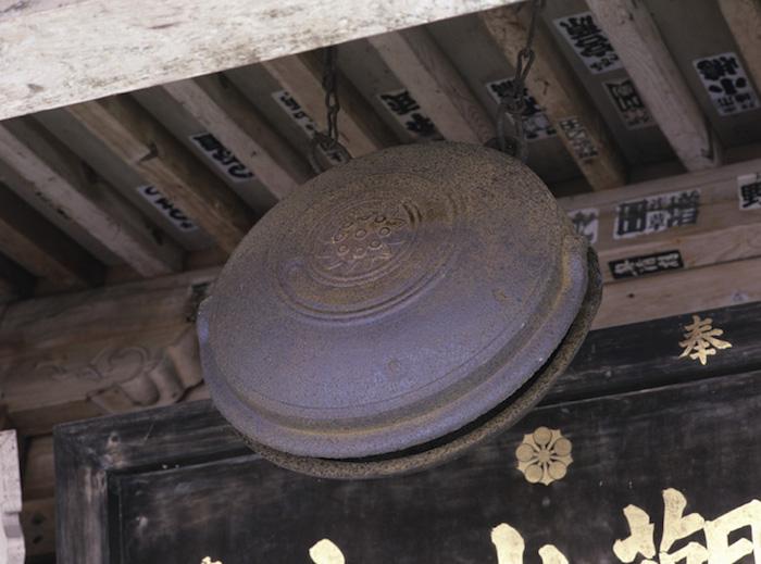 安居寺鰐口の画像