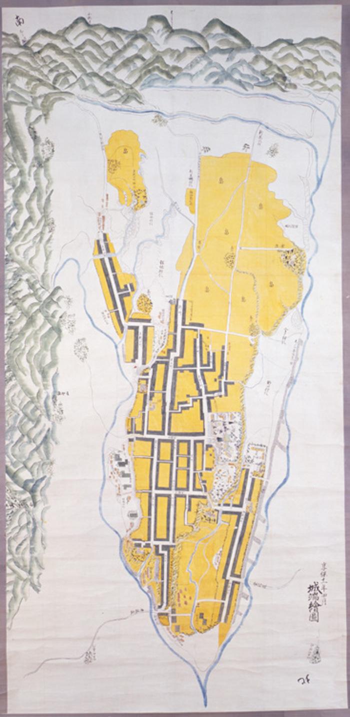 城端町絵図の画像