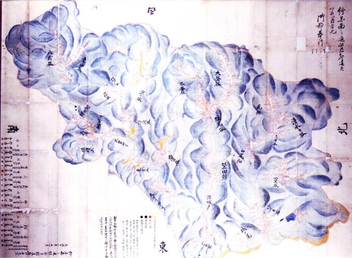 南家七村入会山文書の画像