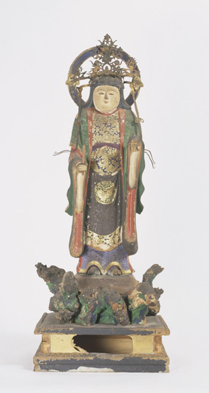 七面天女(吉祥天)像の画像