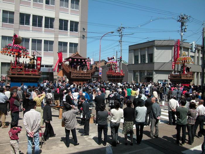 福野神明社春季祭礼曳山の画像