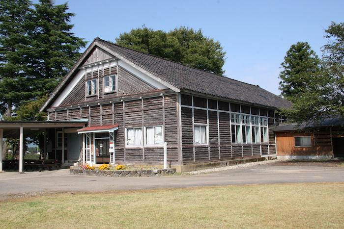 旧大鋸屋小学校体育館の画像