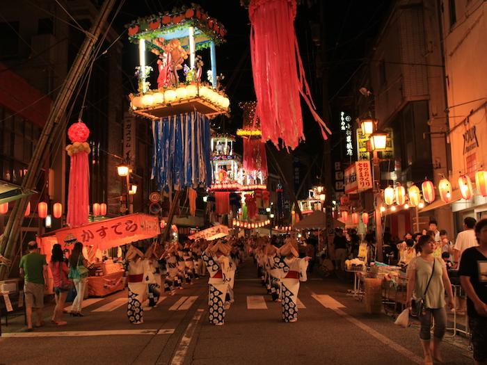 福光ねつおくり七夕祭りの画像