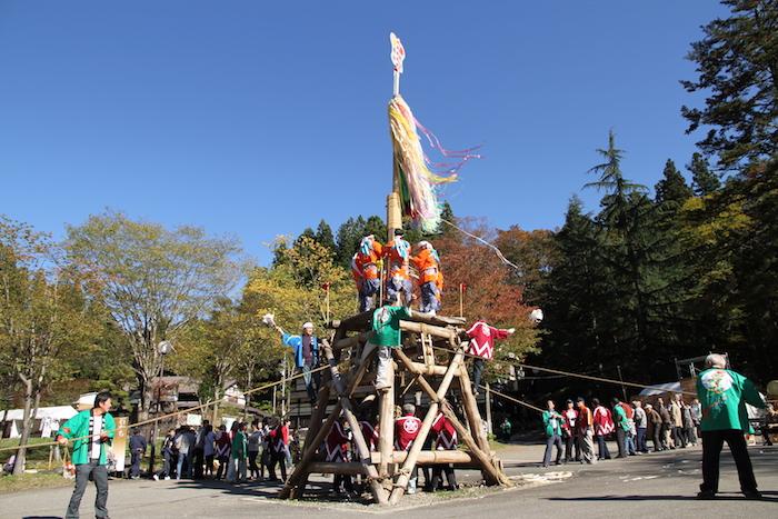 ど~んと利賀の山祭りの画像